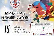 El Grupo Scout 'Cueva Negra' de Caravaca organiza una campaña de recogida de alimentos y juguetes