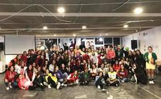Encuentro de corresponsales juveniles en el albergue de Calarreona