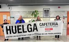 Huelga en la cafetería del hospital comarcal