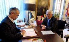 El ayuntamiento firma un convenio con el Ministerio de Hacienda para agilizar la gestión catastral
