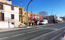 Fomento mejora la seguridad vial de los peatones de la pedanía caravaqueña de El Moral