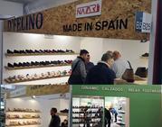 Nueve empresas de calzado exponen en la feria internacional de Garda en Italia
