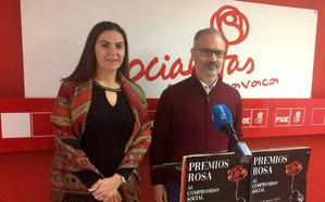El Grupo Municipal Socialista de Caravaca entregará los 'Premios Rosa' al Compromiso Social