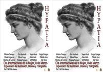 Doce mujeres muestran sus obras en la exposición de ilustración, diseño y fotografía 'Hypatia'