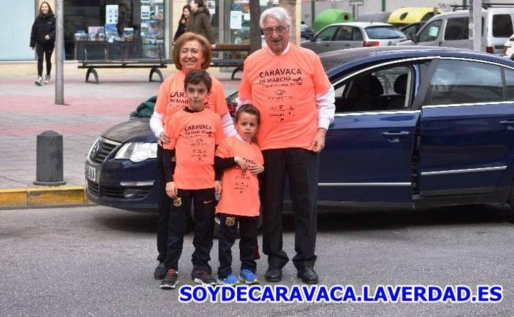 Marcha Delwende Caravaca por Venezuela 1