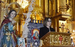La pregonera de la Semana Santa de Caravaca anima a dar «testimonio de penitencia»