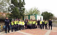 Unos 400 escolares participan en Caravaca en las Jornadas de Educación Vial