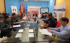 La Junta Local de Seguridad coordina los dispositivos de las fiestas patronales de Caravaca
