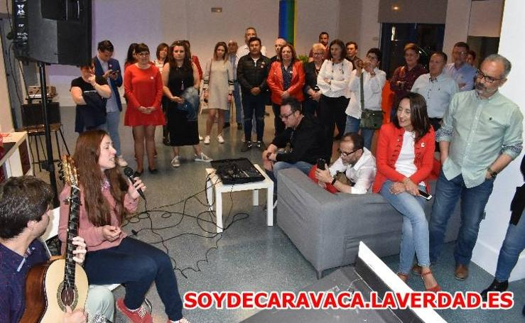 Inicio de campaña electoral PSOE