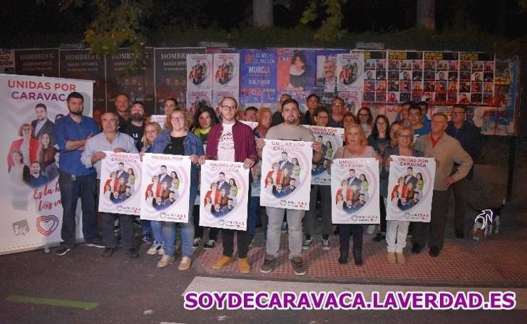 Inicio de campaña electoral UNIDAS CARAVACA