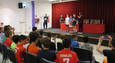 Casi dos mil estudiantes caravaqueños han participado en el programa de deporte escolar
