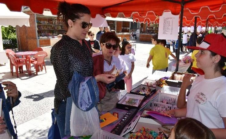 Cooperativas del colegio Cervantes en el mercado 2