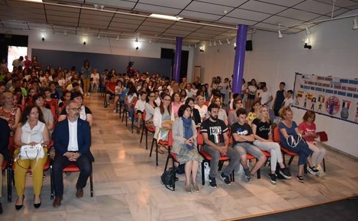 Recepción Profesorado Erasmus en el CEIP Cervantes 01
