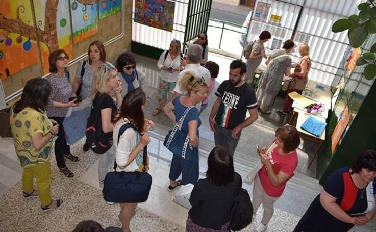 Recepción Profesorado Erasmus en el CEIP Cervantes 02