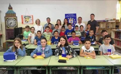 La campaña 'Europa invierte en nuestras zonas rurales' llega a 600 escolares de la Región
