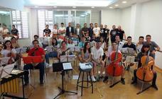 El Conservatorio de Caravaca se integra en el Vaca Pop con un concierto de rock sinfónico