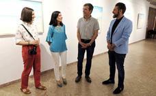 Cultura abre al público la exposición 'Azul' de la pintora cartagenera Ascensión Pérez