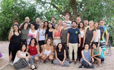 La pedanía caravaqueña de Los Prados acoge un encuentro de jóvenes europeos