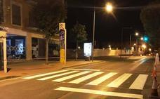 Inician una campaña para mejorar la señalización horizontal en el municipio