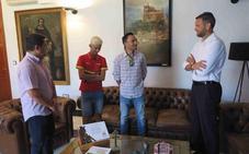 Abel Torreblanca es recibido en el Ayuntamiento tras proclamarse Campeón del Mundo Júnior de Atletismo Paralímpico