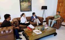 El alcalde se reúne con el cónsul de Ecuador para estrechar lazos entre ambas instituciones
