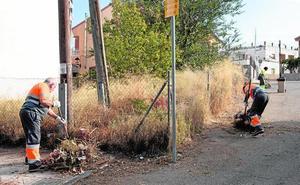 Un plan de limpieza intensivo pondrá a punto el casco urbano, las pedanías y las urbanizaciones de Caravaca