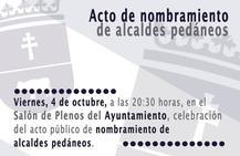 Los alcaldes pedáneos del municipio de Caravaca serán nombrados oficialmente en el Salón de Plenos del Ayuntamiento