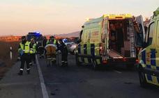 Una cabezada, principal hipótesis del accidente con dos muertos y 9 heridos en Torre Pacheco