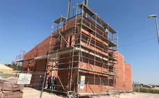 La ermita de Los Olmos estará terminada a final de año