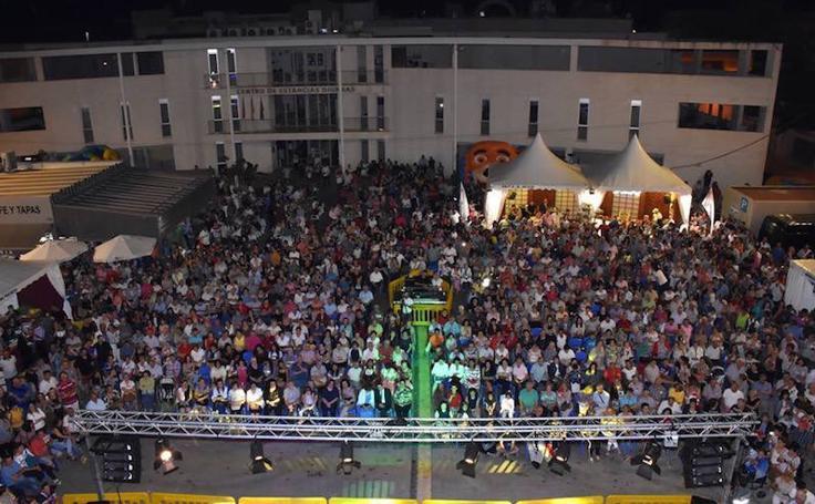 Multitudinarias Fiestas del Melón en Torre Pacheco
