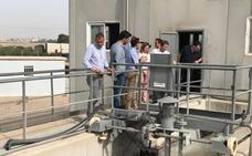 La ampliación de la depuradora permitirá reciclar el excedente de aguas pluviales