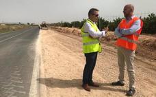 Las obras de la carretera de Balsicas evitarán los cortes de tráfico con las lluvias torrenciales