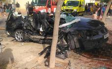 Dos aparatosos accidentes dejan nueve heridos en Cartagena y Torre Pacheco