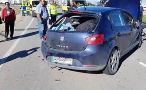 Nueve heridos en dos accidentes de tráfico en Torre Pacheco