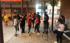 Los alumnos de Secundaria graban sus propios 'spots' sobre el consumo de drogas