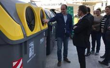 Nuevos contenedores y camiones híbridos con el nuevo contrato de los residuos urbanos