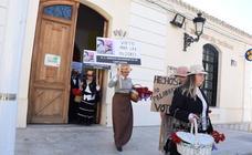 Las sufragistas reaparecen en Torre Pacheco