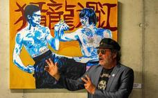Juan Ros versiona en tinta y acuarela las escenas inmortales del cine