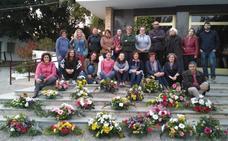 El arte floral se convierte en la salida laboral para 20 alumnos del Cifea