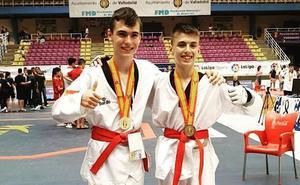 Oro y plata para el club Koryo en el campeonato de España