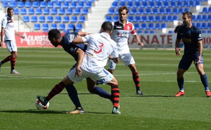 Imágenes del UCAM CF - Melilla (1-1)