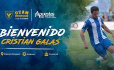 Cristian Galas, nuevo defensa del UCAM