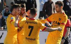 El UCAM se reencuentra con la victoria en un campo difícil