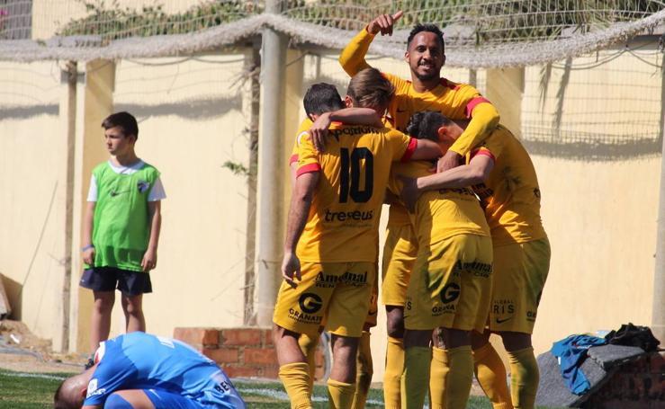 El UCAM golea al colista al final del partido (0-3)