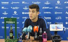 Javi Fernández: «Ante el Villanovense no supimos gestionar bien los últimos minutos»