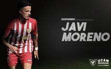 El extremo Javi Moreno, nuevo fichaje del UCAM