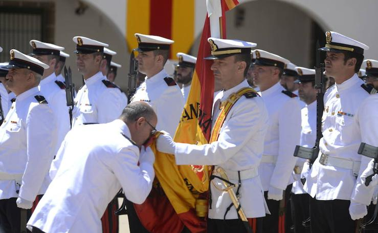 Ceremonia por el patrón de la Infantería de Marina