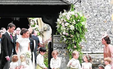 La boda de Pippa Middleton fue todo menos austera
