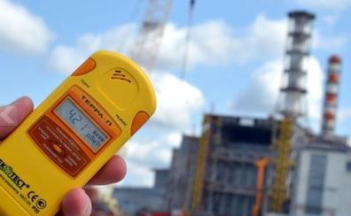Sofocan una humareda en el tercer reactor de la central nuclear de Chernóbil