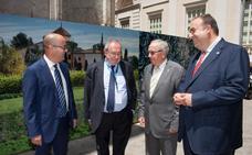 José Luis Bonet mantiene un encuentro con los presidentes de las Cámaras de Comercio de Murcia, Cartagena y Lorca